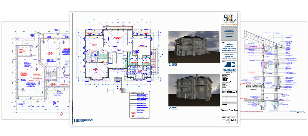 Permit-ready architectural plans