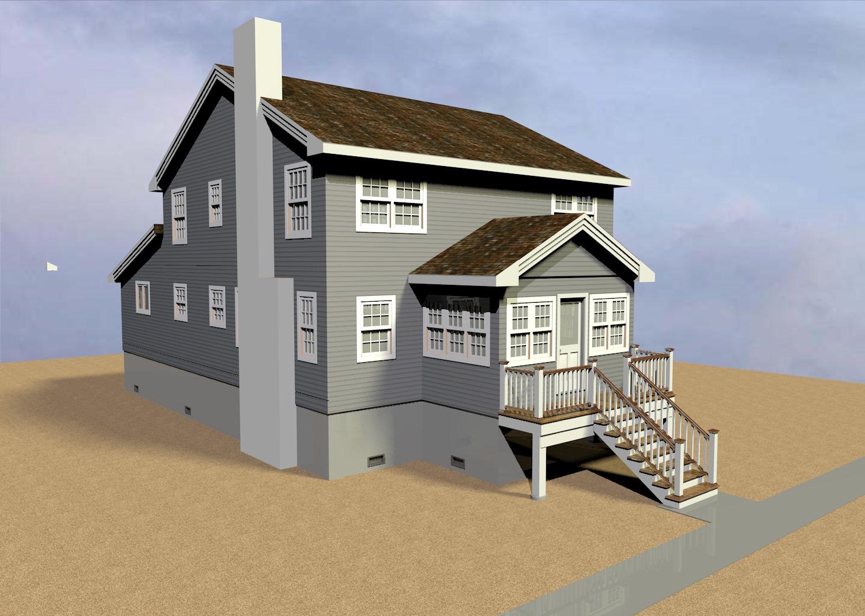 Normandy Beach House Lift